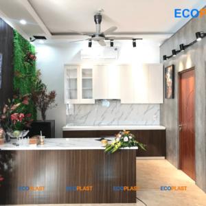 nội thất phòng bếp bằng nhựa ecoplast ec01
