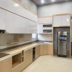 nội thất phòng bếp bằng nhựa ecoplast ec06